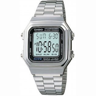 A178WEA-1AES, Casio Collection Uni-Sex ur